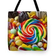 I Love Candy Tote Bag