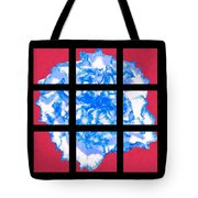 I Love Carnations Mosaic Tote Bag