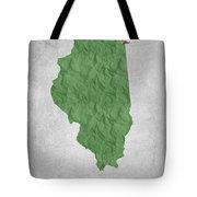 I Love Chicago Illinois - Green Tote Bag
