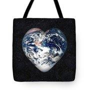 I Love Earth Tote Bag