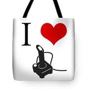 I Love Games Tote Bag