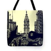 I Love Philly Tote Bag by Bill Cannon