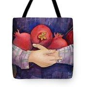 I Love Pomogranates Tote Bag