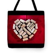 I Love Red Wine Tote Bag