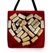I Love Red Wine - Vertical Tote Bag