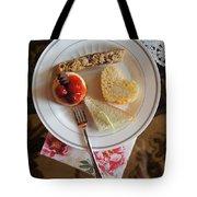 Beautiful Plate Tote Bag