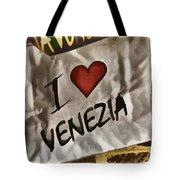I Love Venezia Tote Bag