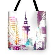 I Love Warsaw Tote Bag