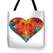 I Love You 17 - Heart Hearts Romantic Art Tote Bag