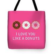 I Love You 7 Tote Bag