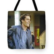 I Love You Babe Tote Bag by Luis Ludzska