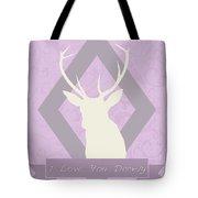 I Love You Deerly Tote Bag