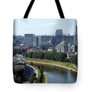 I Love You. Vilnius. Lithuania Tote Bag