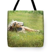 I Need A Tan  Horse Tote Bag