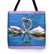 I Promise To Love You Poster By Diana Sainz Tote Bag