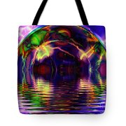 I Sing The Bubble Electric Tote Bag