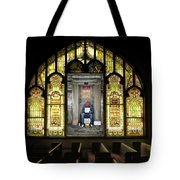 I Stand At The Door And Knock Composite Tote Bag
