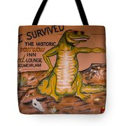 I Survived The Historic Pow Wow Tote Bag