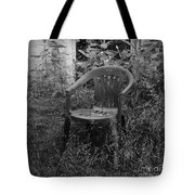I Used To Sit Here Tote Bag by Luke Moore