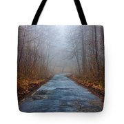 I Walk A Lonely Road Tote Bag