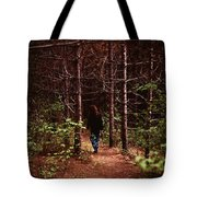 I Walk Alone Tote Bag