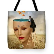 I Want To Look Inside Your Head Tote Bag
