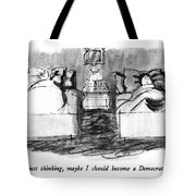 I Was Just Thinking Tote Bag