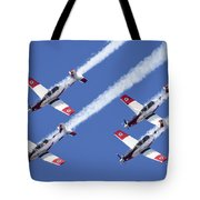Iaf Flight Academy Aerobatics Team 6 Tote Bag