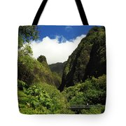 Iao Needle - Iao Valley Tote Bag