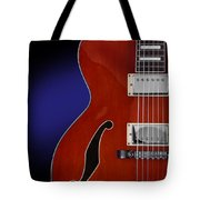 Ibanez Af75 Hollowbody Electric Guitar Front View Tote Bag