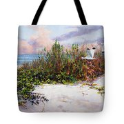 Ibis Sunset Tote Bag