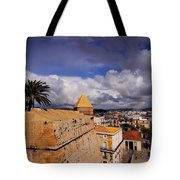 Ibiza Town Walls Tote Bag