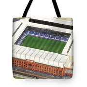Ibrox Stadium Tote Bag