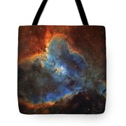 Ic 1805, The Heart Nebula In Cassiopeia Tote Bag