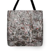 Ice Abstract 1 Tote Bag