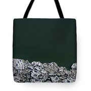 Ice Abstract 10 Tote Bag