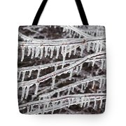 Ice Abstract 2 Tote Bag
