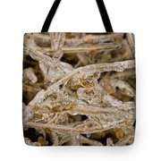 Ice Abstract II Tote Bag