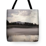Ice And Fog Tote Bag