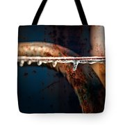 Ice And Rust Tote Bag
