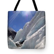 Ice And Sun Tote Bag