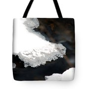 Ice And Water Tote Bag