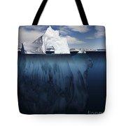Ice Arch Iceberg Tote Bag