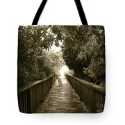 Ice At The Beach Tote Bag