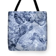 Ice Background Tote Bag