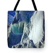 Ice Berg Up Close And Personal Tote Bag