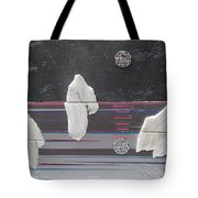 Ice Bergs Tote Bag