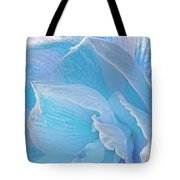 Ice Blue Amaryllis Abstract Tote Bag