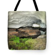 Ice Cave At The Mountains Tote Bag