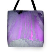 Ice Cliff Tote Bag